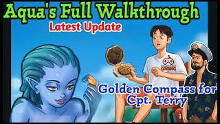 Aqua Full Walkthrough | Summertime Saga 0.20.1 | Golden Compass for Capt. Terry Complete Storyline