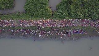 Дорога на Бангладеш: более полумиллиона рохинджа бежали из Мьянмы