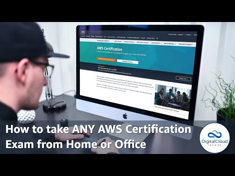 How to take ANY AWS Certification Exam from Home or Office ...