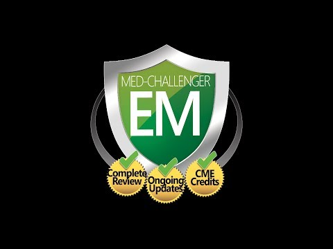 Med-Challenger #1 Online 2021 ABEM Emergency Medicine Recertification Board Review Course