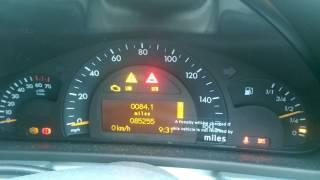 Finally Fix Mercedes C Class Esp Abs Bas Fault Light