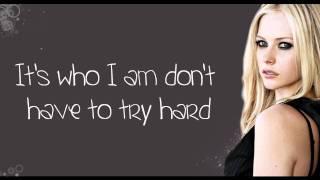 Avril Lavigne - Wish You Were Here (lyrics) HD