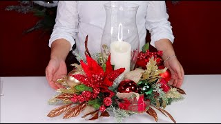 How To Make A Christmas Centerpiece On A Budget / Olivias Romantic Home Collaboration