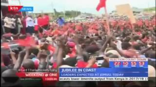 President Uhuru Kenyatta courting the Coast in search for votes