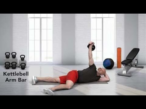Kettlebell Arm Bar