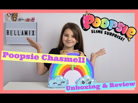 Poopsie Chasmell Rainbow Slime Kit Unboxing and Review | Make Up Slime | Bella Mix