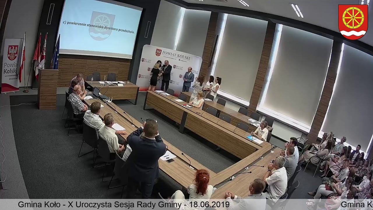Zdjęcie do X Sesja Rady Gminy Koło