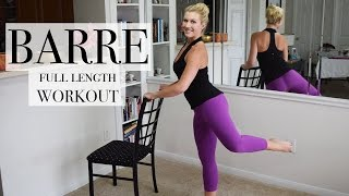 Full Length: Total Body BARRE Class by SummerGirl Fitness