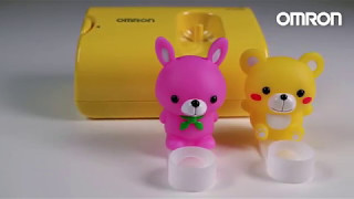 Компрессорный ингалятор OMRON NE-C24 Kids, небулайзер от компании Медтехника Доброта - видео
