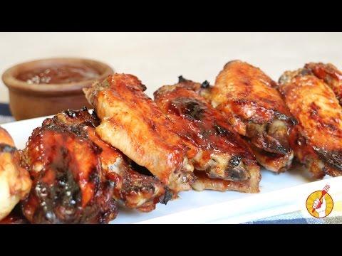Alitas de Pollo con Salsa Barbacoa Casera | Receta Fácil | Tenedor Libre