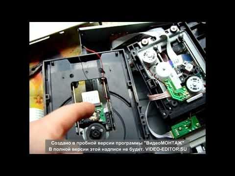 Самый интересный ремонт ДВД привода