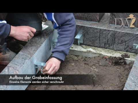 """Grabstein-Aufbau - """"Michelangelo-Doppio"""" aus Granit - Exklusiv gefertigt von Stilvolle-Grabsteine.de"""