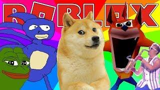 MEME SIMULATOR | Roblox Adventures - Roblox Gameplay