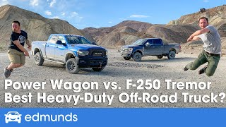 Ram Power Wagon Vs. Ford F-250 Tremor Off-Road Battle! Review, Price, Specs & More