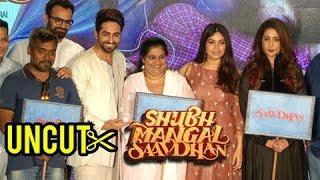 Shubh Mangal Saavdhan Trailer Launch FULL EVENT | Ayushmann Khurrana And Bhumi Pednekar