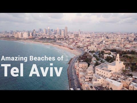 Tel Aviv Beaches 2018 4K Drone