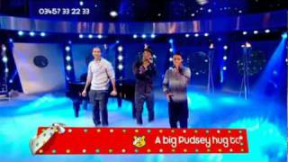 JLS Singing Love You More Live for Children In Need 2010 HQ
