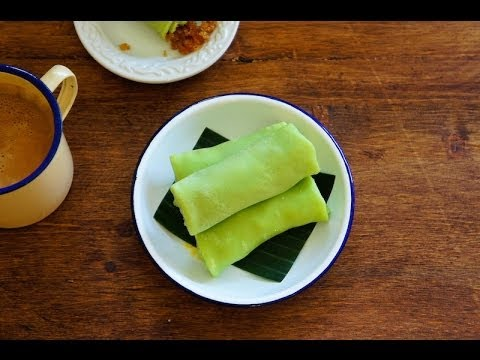 Coconut Crepes (Kuih Dadar)