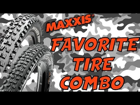 Maxxis DHF & Aggressor MTB Tire Review (Best Trail Tires on the Market!)