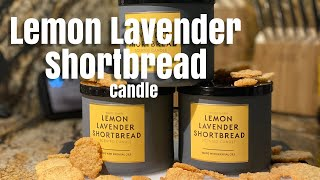 Lemon Lavender Shortbread | Bath & Body Works 3 Wick Candle