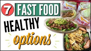 🍔EASY HEALTHY FAST FOOD OPTIONS 🥗TOP 7 KETO / LOW CARB FAST FOOD RESTAURANTS 🍟 WHAT TO ORDER