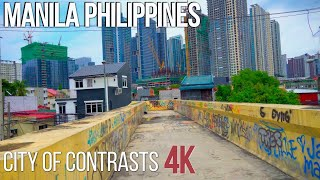 Manila Philippines In 4K | A City Of Contrasts