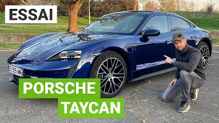 Essai Porsche Taycan : que vaut la moins chère des Porsche électriques ?