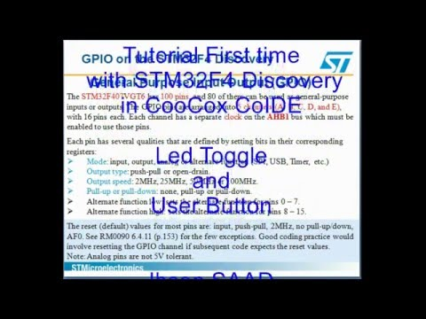 µGUI v0 3 | Example Project | STM32F429 Discovery | CooCox