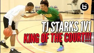 NEW CLOSEOUT 1V1 KING OF THE COURT! TJ Starks is Too Tough!