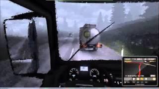 preview picture of video 'Let´s Play Euro Truck Simulator 2 #9 Ich fahre wie besoffen durch die Gegend'