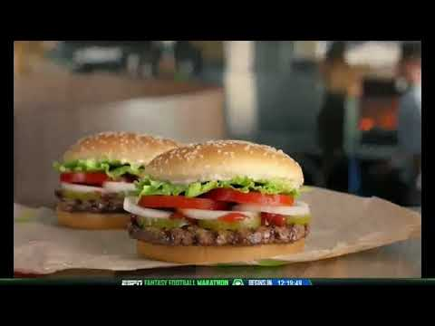 Burger King Commercial (2018) (Television Commercial)