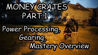 BDO Beginner 0 To Guru Hero - Money Crates Part 1 - Power Level Processing