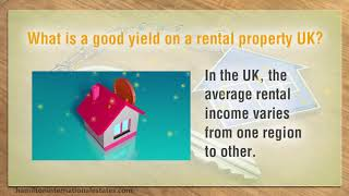 What is a good rental yield UK
