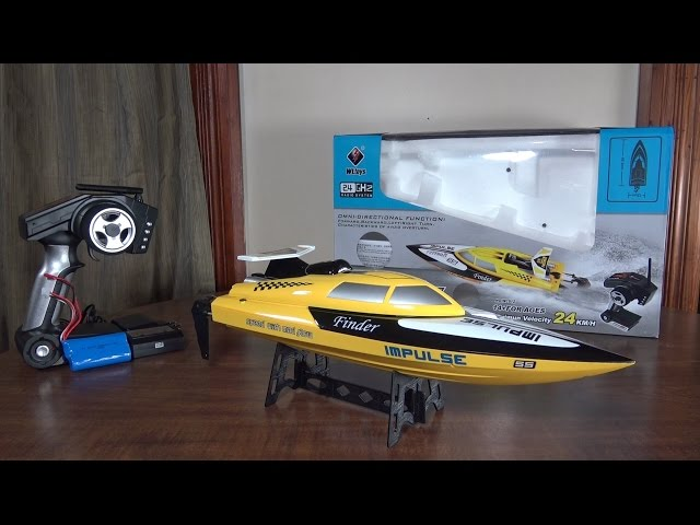 WLtoys - WL912 Speed Boat - Review and Run