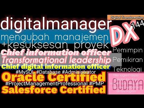 Sertifikasi meningkatkan CIO Administrator Management ... - YouTube
