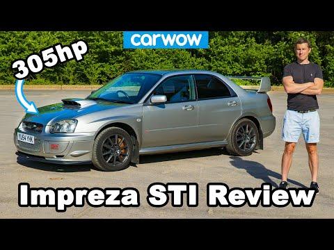Subaru Impreza WRX STi Prodrive 2004 - see why it's the best Scooby ever!