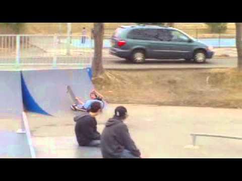 JB winthrop skate park