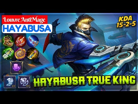 Hayabusa True King [ Top 1 Global Hayabusa S10 ] Louvre AntiMage Hayabusa Mobile Legends