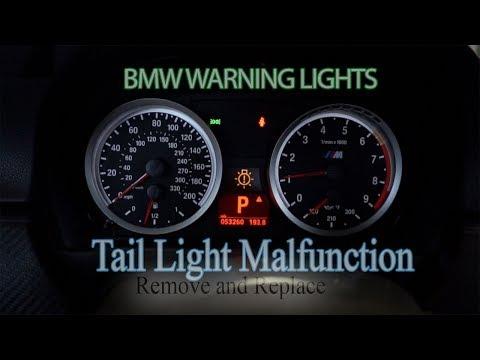 BMW 3-series Tail Light Malfunction - Remove and Replace - e90 e92 e93