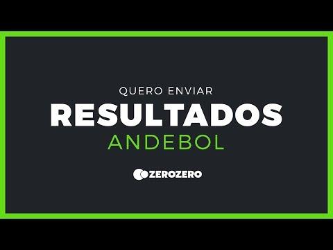 Como enviar resultados de andebol no zerozero?