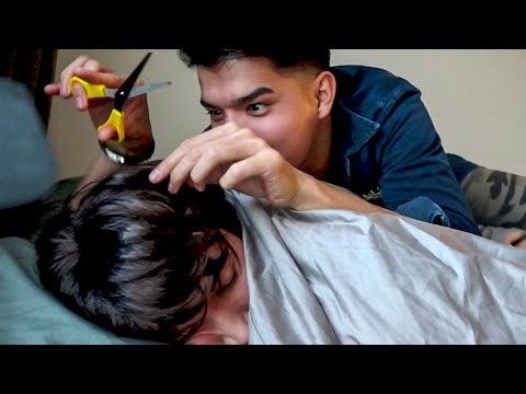 My Brother CUT My HAIR!! (How To Prank)
