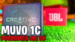 Creative MUVO 1C Wodny Test! Porównanie do JBL GO