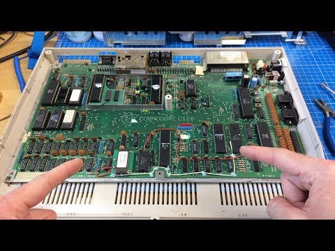 Commodore 128 Part 1: First Inspection and Surprise Enhancements