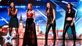Zyrah Rose are on fire but why is Simon feeling cold? | Auditions Week 7 | Britain's Got Talent 2016