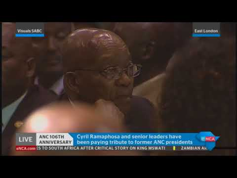 CYRIL RAMAPHOSA AT ANC GALA