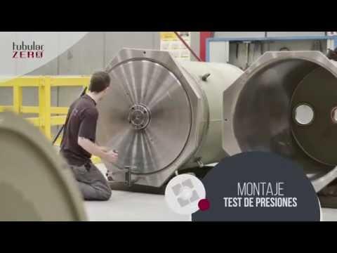 TUBULAR ZERO; Lapeado de gran tamaño, tridimensional ZEISS Accura, montaje y test de presiones.