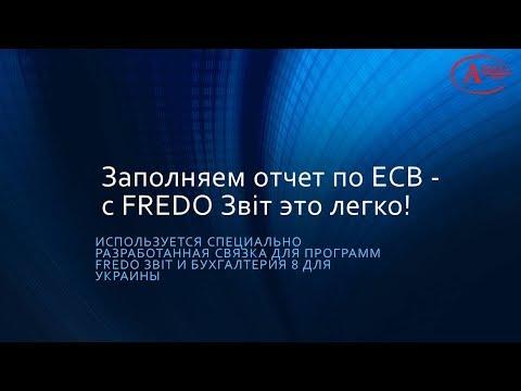 Заполняем отчет по ЕСВ - с FREDO Звіт это легко!