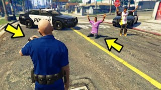 Я стараюсь играть так же, как Полиция в GTA 5!