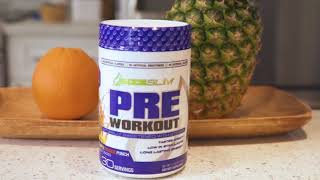 SIZESLIM DIABETIC FRIENDLY PRE WORKOUT AND RECOVERY BCAA