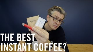 The Best Instant Coffee?